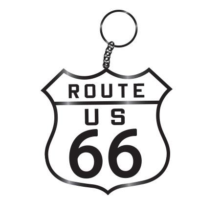 tim ward keychain route 66