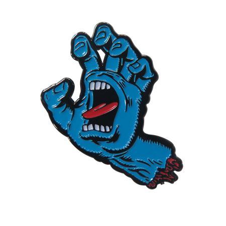 screaming hand pin