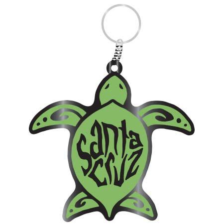 santa cruz sea turtle keychain tim ward