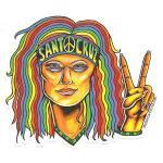 Decal-Hippie-Girl