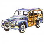 Decal Santa Cruz Woodie Woody Sticker