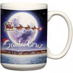santa cruz christmas mug