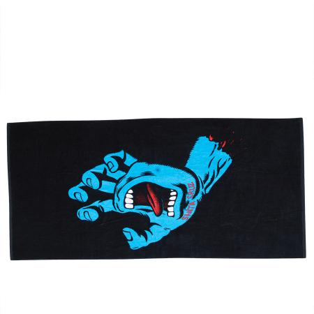 Santa Cruz Beach Towel Screaming Hand