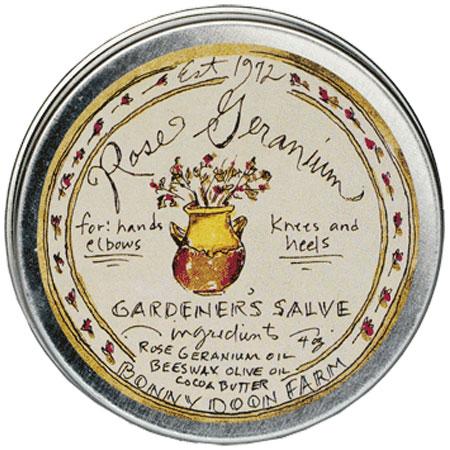 bonny doon farm rose geranium salve