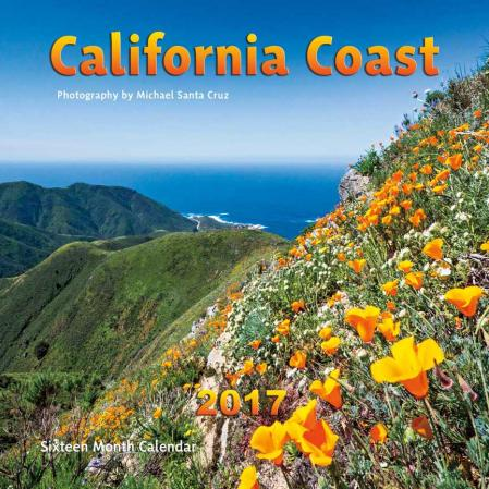 california coast calendar 2017 michael santa cruz