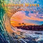 2017 santa cruz calendar, luminous waves calendars