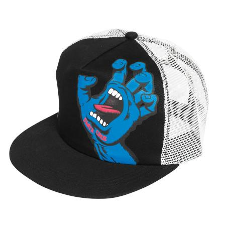 screaming hand mesh trucker hat snapback