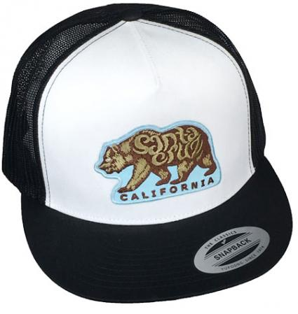 santa cruz bear hat by tim ward