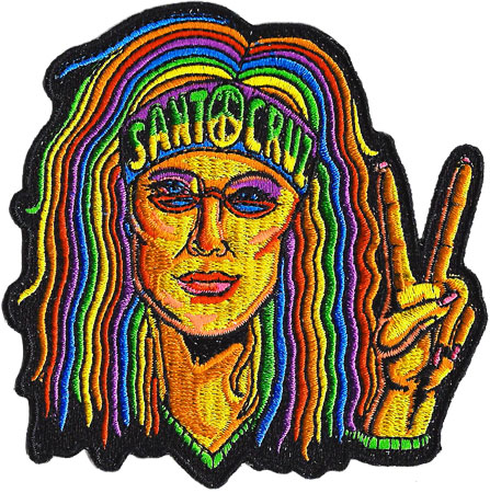 santa cruz patch hippie chick