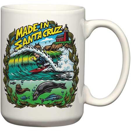 jimbo phillips santa cruz ceramic coffee mug