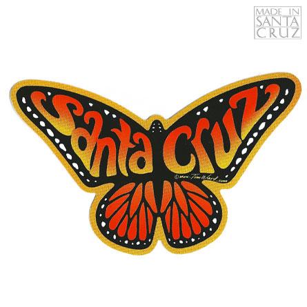 Decal Santa Cruz Monarch Butterfly Sticker Orange By