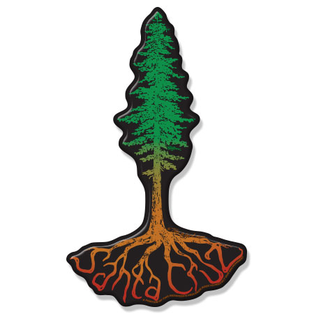 santa cruz redwood tree magnet tim ward