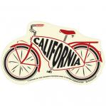 tim ward sticker decal bike cruiser california