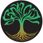 Santa Cruz Sticker Tim Ward Tree of Life