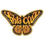 santa cruz butterfly monarch magnet tim ward