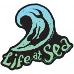 tim ward sticker decal santa cruz life at sea mermaid