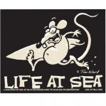 tim ward sticker decal santa cruz life at sea surf rat