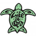 tim ward sticker decal santa cruz life at sea turtle