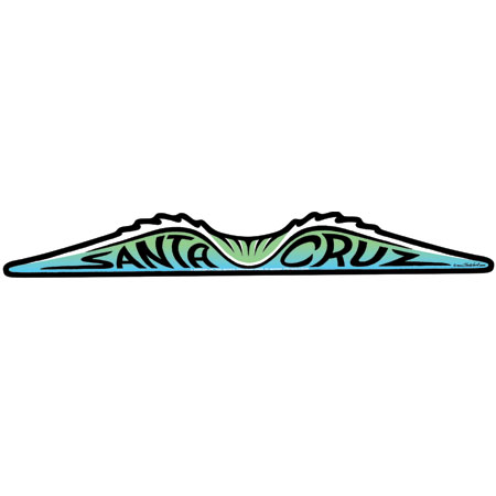 Santa Cruz Wave Sticker Tim Ward