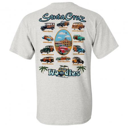 Santa Cruz Woodies Woody Tshirt