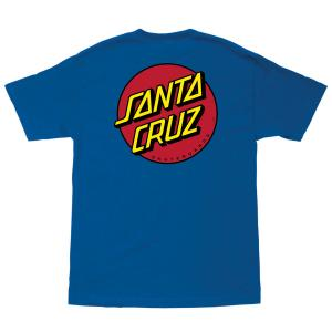 Santa Cruz Classic Dot Tshirt Harbor Blue