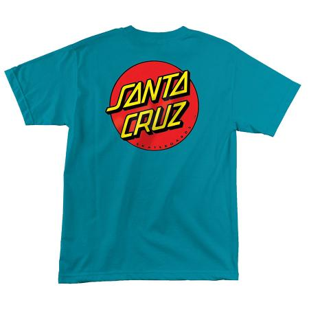 santa cruz classic red dot youth t-shirt