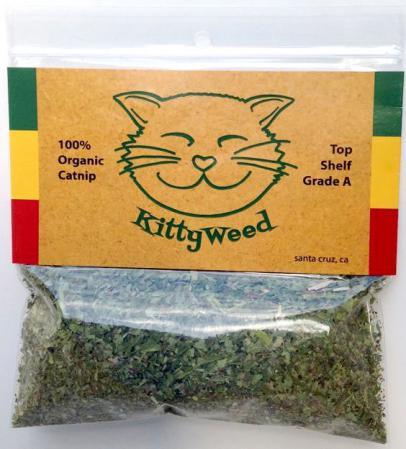 KittyWeed Organic Loose Catnip