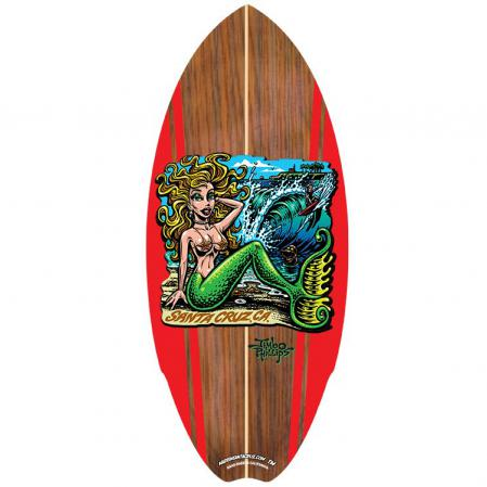 decorative mini wooden surfboard skimboard