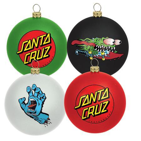 Santa Cruz Ornaments