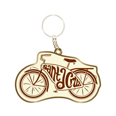 santa cruz bike cruiser keychain tim ward