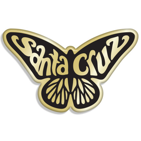 tim ward santa cruz monarch butterfly pin