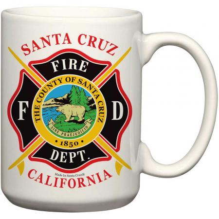 santa cruz fire dept mug