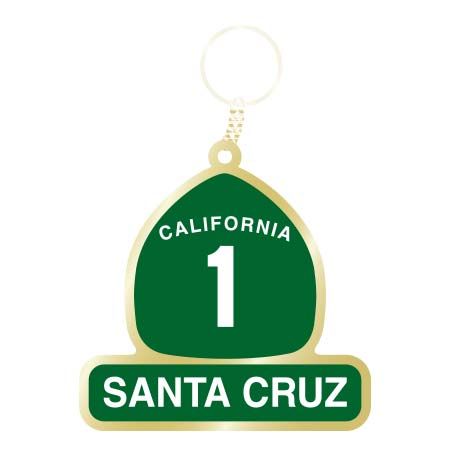 santa cruz highway 1 keychain tim ward