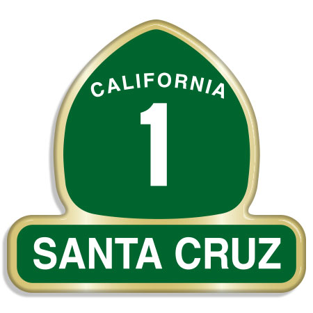 tim ward santa cruz hwy 1 pin
