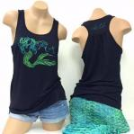 areli pina mermaid tank top